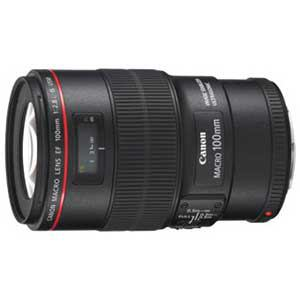 Canon レンズ EF100/2.8LマクロISU