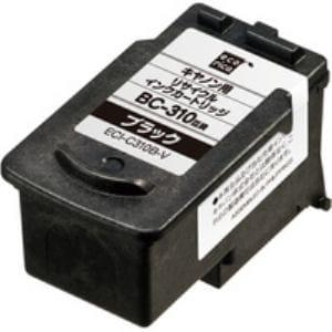 エコリカ ECI-C310B-V キヤノン BC-310対応 リサイクルインクカートリッジ ブラック