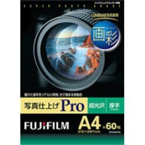 富士フイルム WPA460PRO 画彩 写真仕上げPro A4サイズ 超光沢 60枚入