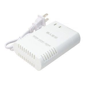 ミヨシ USBポート搭載薄型変圧器 旅人専科 MBT-WDM/WH