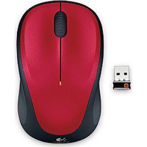 Logicool ワイヤレスマウス M235rRD