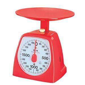 タニタ 1439RE-2KG クッキングスケール 2kg レッド