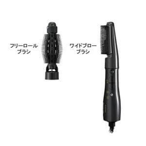 パナソニック くるくるドライヤー 「ZIGZAG」(700W/500W)  EH-KA60-K 黒 EHKA60K
