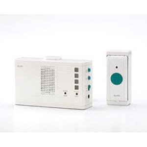 ELPA EWS-2001 ワイヤレスチャイムランプ付き受信器セット