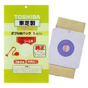 東芝 掃除機用 防臭加工 シール弁付きダブル紙パック(5枚入り) VPF-6