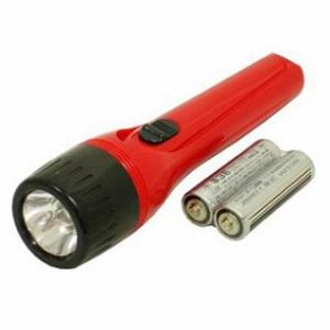 オーム電機 乾電池付き懐中ライト FL-108S