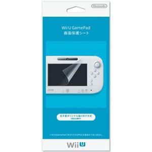 任天堂 Wii U Game Pad画面保護シート WUP-A-SHAA(ガメンホゴシート)
