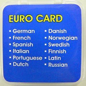 東江物産 GLC-EU12 ユーロ言語カード