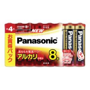 パナソニック アルカリ乾電池単4形8本パック LR03XJ/8SW