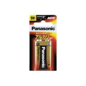 パナソニック アルカリ乾電池9V形 6LR61XJ/1B