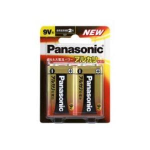 パナソニック アルカリ乾電池9V形2本パック 6LR61XJ/2B