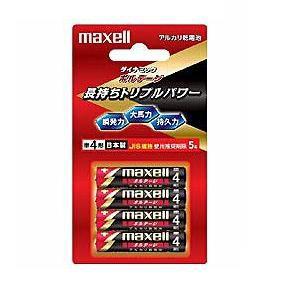 マクセル 【単4形】アルカリ乾電池「ボルテージ」4本入り LR03-T-4B