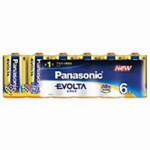 パナソニック 単1形 アルカリ乾電池 「エボルタ」 (6本入り) LR20EJ/6SW