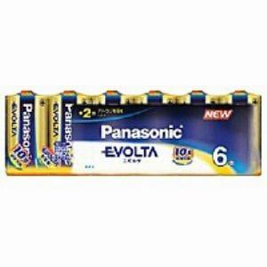 パナソニック 単2形 アルカリ乾電池 「エボルタ」 (6本入り) LR14EJ/6SW