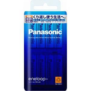 Panasonic エネループ 単3形 8本パック BK-3MCC/8