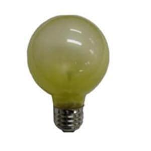 旭光電機工業 G70110V40W(Y) 特殊電球 E26口金 40Wバルーンカラー 1個入り 黄