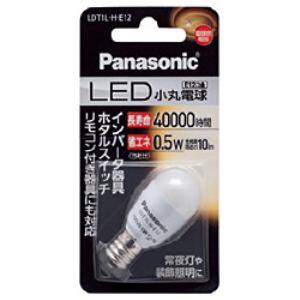 Panasonic LED電球(小丸電球T形・電球色・口金E12) LDT1LHE12