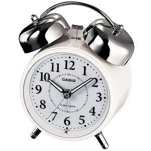 カシオ  TQ-720J-7JF  電波時計(置き時計)  アナログタイプ