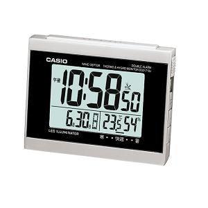 カシオ DQD710J8JF カシオDQD-710J-8JF電波時計(置き時計)デジタル(湿度計/温度計)タイプ