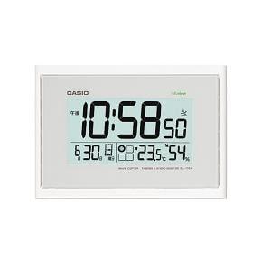 カシオ IDL100J7JF カシオIDL-100J-7JF電波時計(壁掛け時計)生活環境お知らせ(湿度計/温度計)タイプ