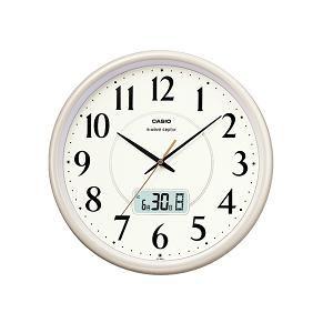 カシオ IC1001J9JF カシオIC-1001J-9JF電波時計(壁掛け時計)アナログタイプ