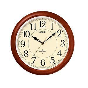 カシオ IQ1150NJ5JF カシオIQ-1150NJ-5JF電波時計(壁掛け時計)アナログタイプ