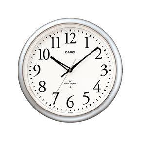 カシオ IQ1050NJ8JF カシオIQ-1050NJ-8JF電波時計(壁掛け時計)アナログタイプ