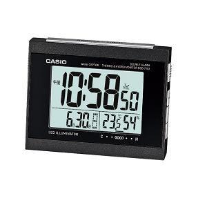 カシオ DQD710J1JF カシオDQD-710J-1JF電波時計(置き時計)デジタル(湿度計/温度計)タイプ