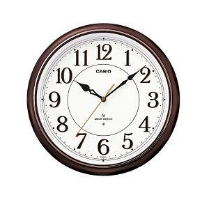カシオ IQ-1051NJ-5JF 電波時計(壁掛け時計) アナログタイプ