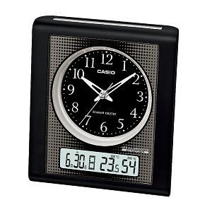 カシオ TQT351NJ1JF カシオTQT-351NJ-1JF電波時計(置き時計)アナログ(湿度計/温度計)タイプ