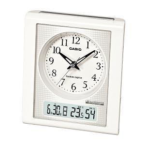 カシオ TQT351NJ7BJF カシオTQT-351NJ-7BJF電波時計(置き時計)アナログ(湿度計/温度計)タイプ
