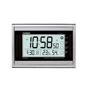 カシオ IDS160J8JF カシオIDS-160J-8JF電波時計(壁掛け時計)生活環境お知らせ(湿度計/温度計)タイプ