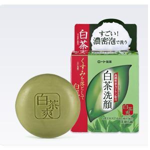 白茶爽 白茶洗顔石鹸 (85g)