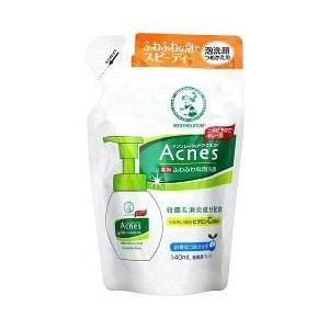 メンソレータム アクネス 薬用 ふわふわな泡洗顔 詰替用 (140mL)
