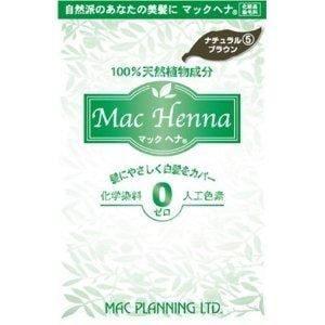 マックプランニング マックヘナ ナチュラルブラウン (100g)