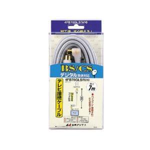 日本アンテナ テレビ接続ケーブル 4FB70GLS(WH)