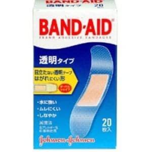 ジョンソン・エンド・ジョンソン(Johnson & Johnson) バンドエイド2011 透明 (20枚) 【医療機器】