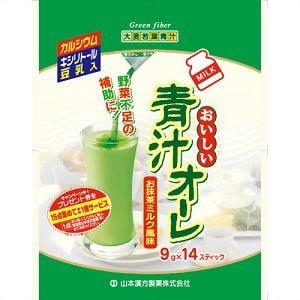 山本漢方 青汁オーレ 9g×14包 【健康補助】