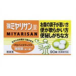 ミヤリサン製薬 強ミヤリサン錠 90錠 【医薬部外品】