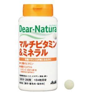 アサヒ ディアナチュラ マルチビタミン&ミネラル 200粒 【栄養機能食品】
