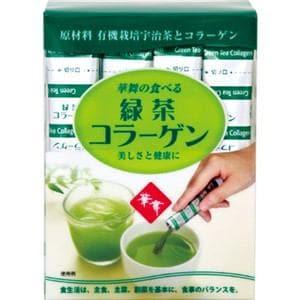 エーエフシー 華舞の食べる緑茶コラーゲン 1.5g×30本 【栄養補助】