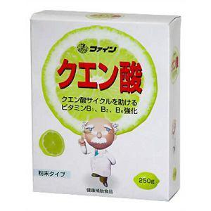 ファイン クエン酸 粉末タイプ 250g 【健康補助】