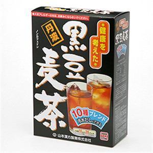 山本漢方 黒豆麦茶 10g×26包 【健康補助】