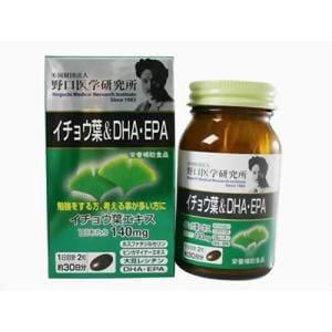 明治薬品 野口医学研究所 イチョウ葉&DHA・EPA 60カプセル 【健康補助】