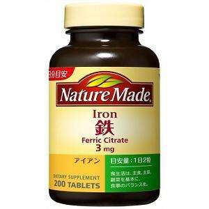 大塚製薬 ネイチャーメイド 鉄(アイアン) ファミリーサイズ 200粒 【栄養機能食品】