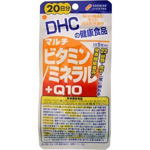 DHC マルチビタミン/ミネラル+Q10 20日分 100粒 【栄養機能食品】