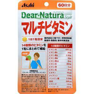 アサヒ ディアナチュラスタイル マルチビタミン 60粒 【栄養機能食品】