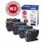 ブラザー LC3111-4PK 【純正】 インクカートリッジ(お徳用4色パック)