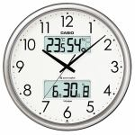 カシオ ITM-650J-8JF 電波時計(壁掛け時計) 生活環境お知らせ(湿度計 / 温度計)タイプ