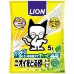 ライオン商事 ニオイをとる砂リラックスグリーンの香り 5L